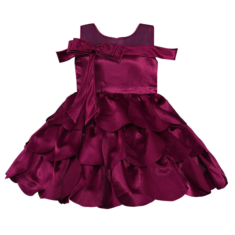 Wish Karo Baby Girls Partywear Dress Birthday Frocks For Girls(bxa264)