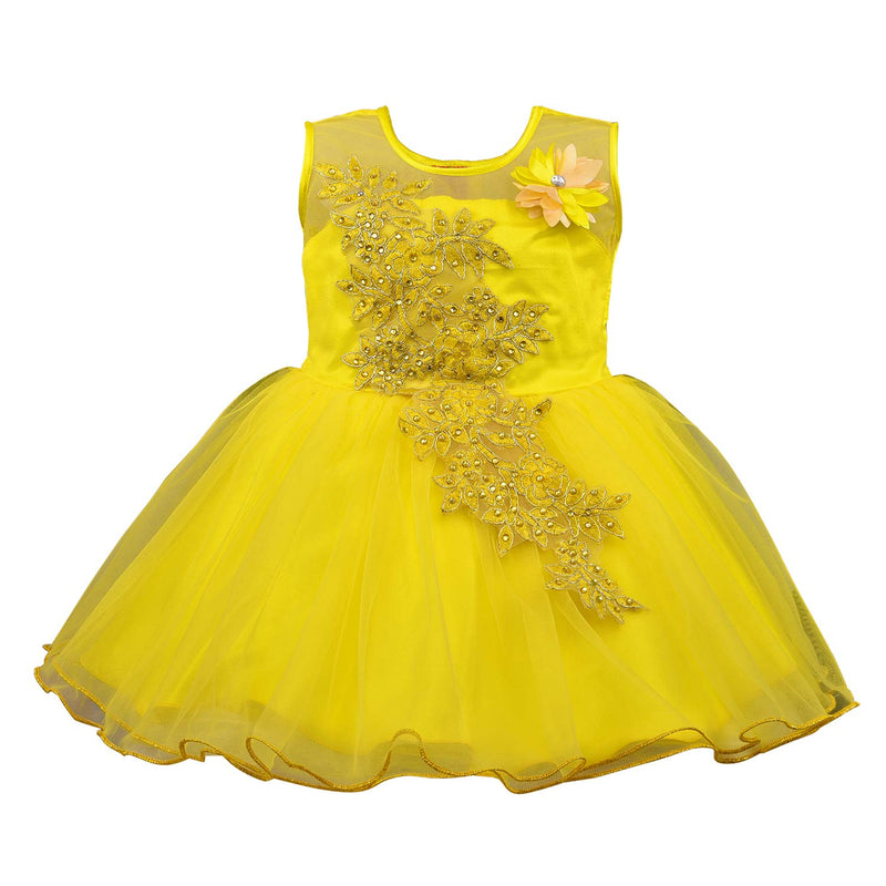 Baby Girls Frock Dress-fe1051y