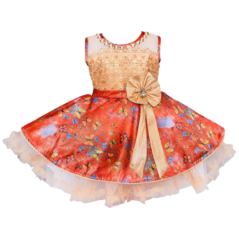 Baby Girls Party Wear Dress Birthday Frocks For Girls fe2649rd