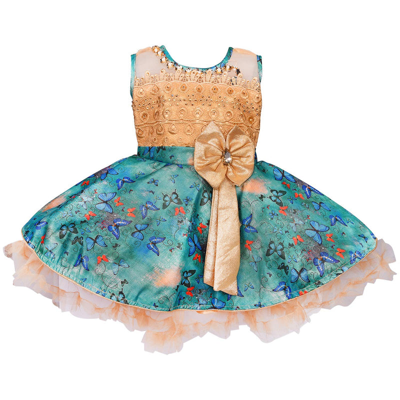 Baby Girls Party Wear Frock Birthday Dress For Girls fe2649sg