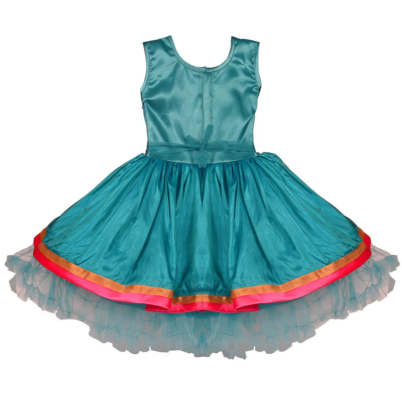 Baby Girls Party Wear Frock Birthday Dress For Girls fe2651grn