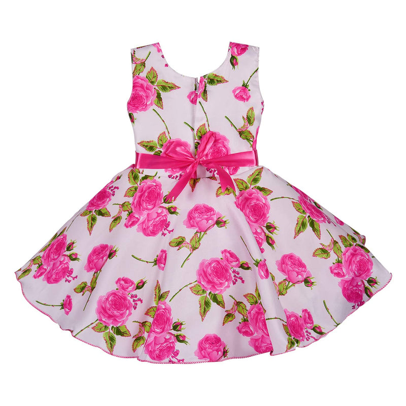 Baby Girls Party Wear Dress Birthday Frocks For Girls fe2678pnk