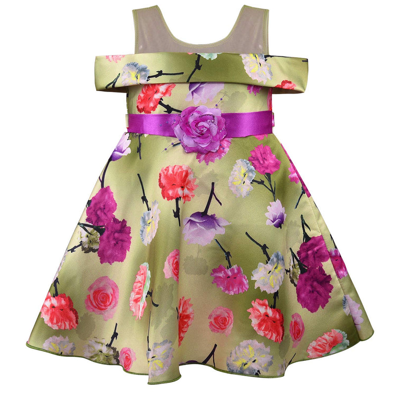 Baby Girls Frock Dress-fe2731ppl