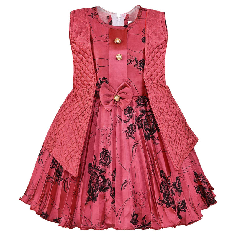 Wish Karo Baby Girls Partywear Frocks Dress For Girls (fe2792t)