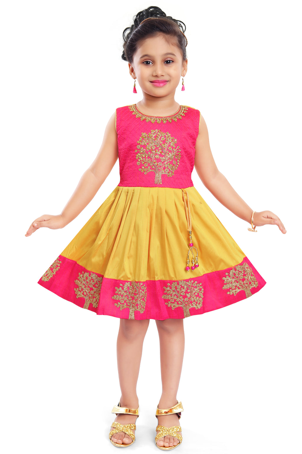 Wish Karo Baby Girls Partywear Frocks Dress For Girls (fe2913y)