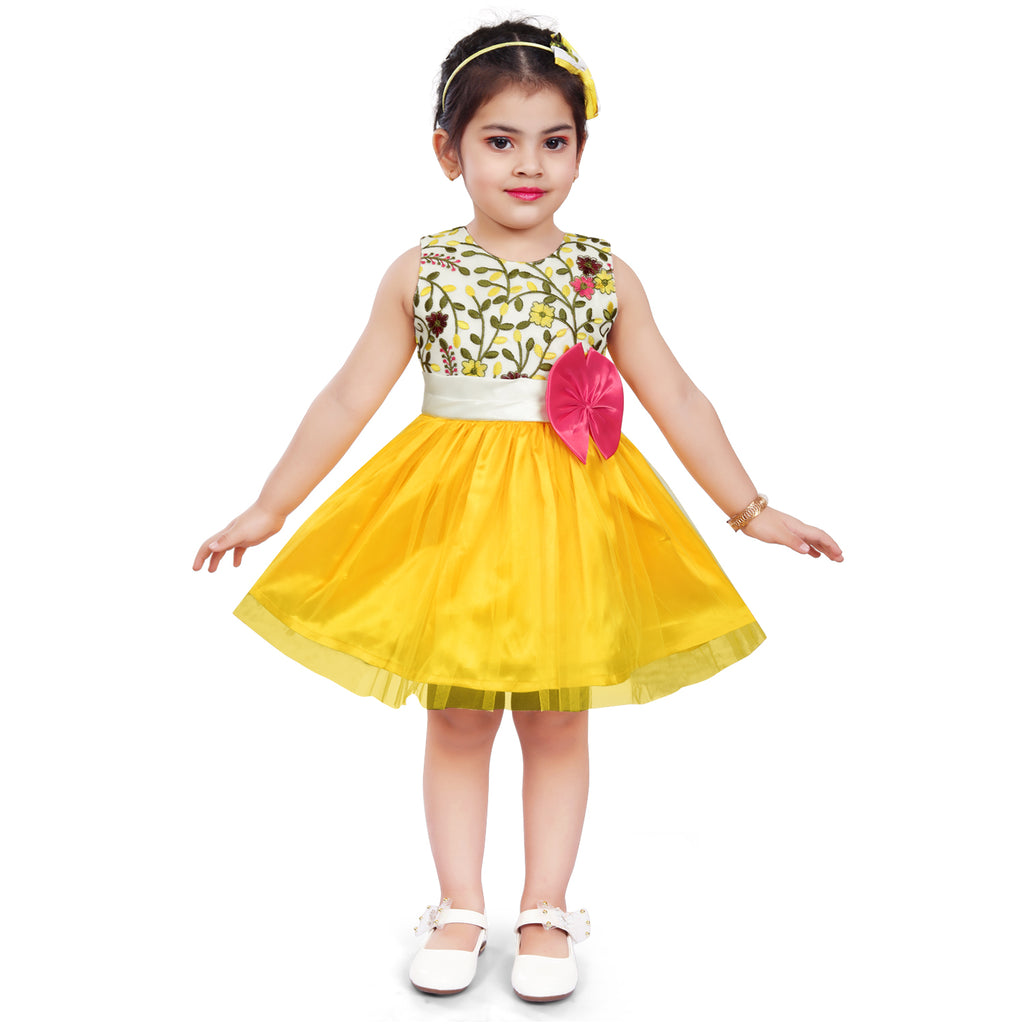 Wish Karo Baby Girls Partywear Frocks Dress For Girls (fe2915y)