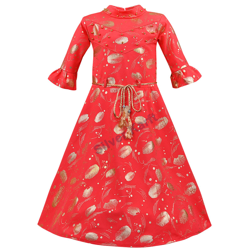 Girls Party Wear Dress - fm03rd