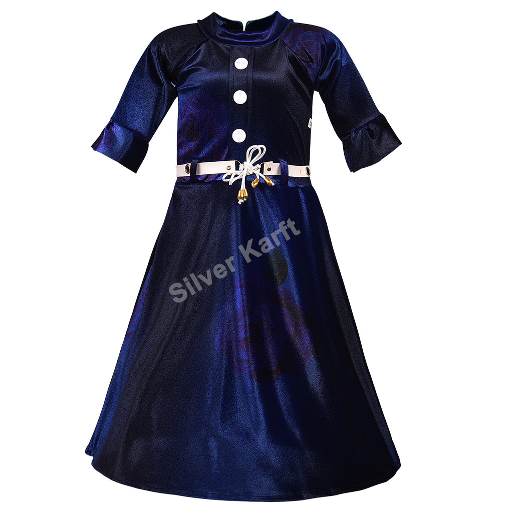 Girls Party Wear Dress - fm05nb