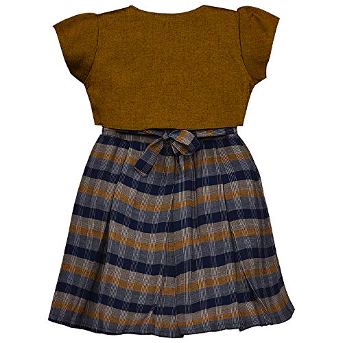 Baby Girls Frock Dress-stn711bwn