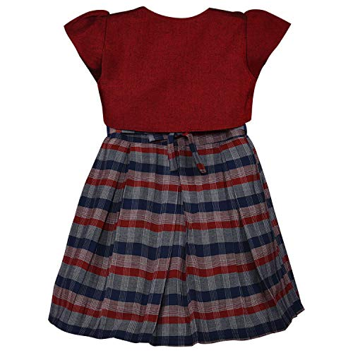 Baby Girls Frock Dress-stn711mrn