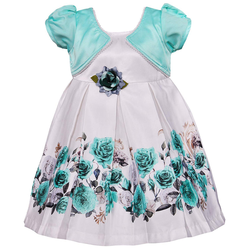 Baby Girls Frock Dress-stn728sg
