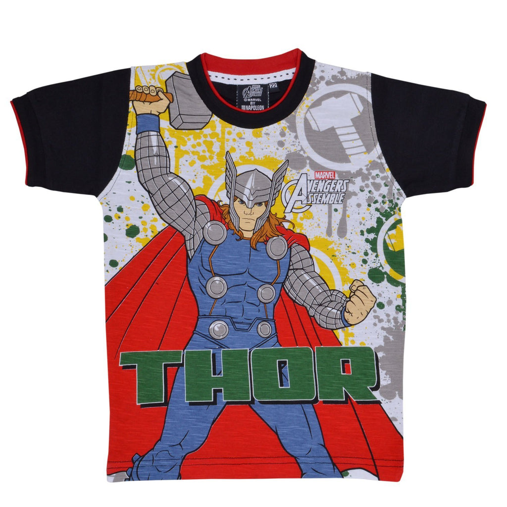 Boys Thor Tshirt  Black -  Wish Karo Dresses