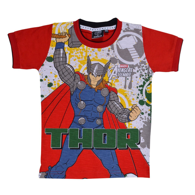 Boys Thor Tshirt  red -  Wish Karo Dresses