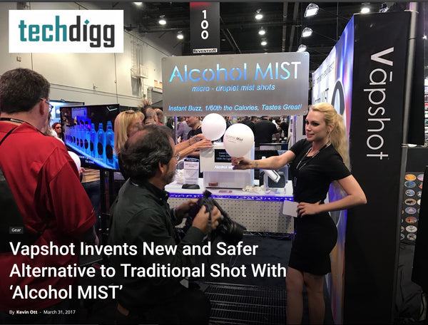 alcohol mist safer better drinking techdigg article Alcohol Industry Bar Trends Hot Night Clubs