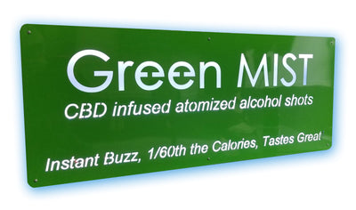 GreenMIST LED Sign