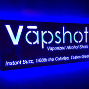 Vapshot LED Sign