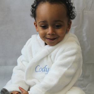 Toddler Soft Hooded Dressing Gown