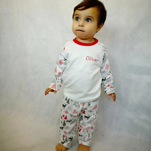 Personalised Christmas Pyjamas