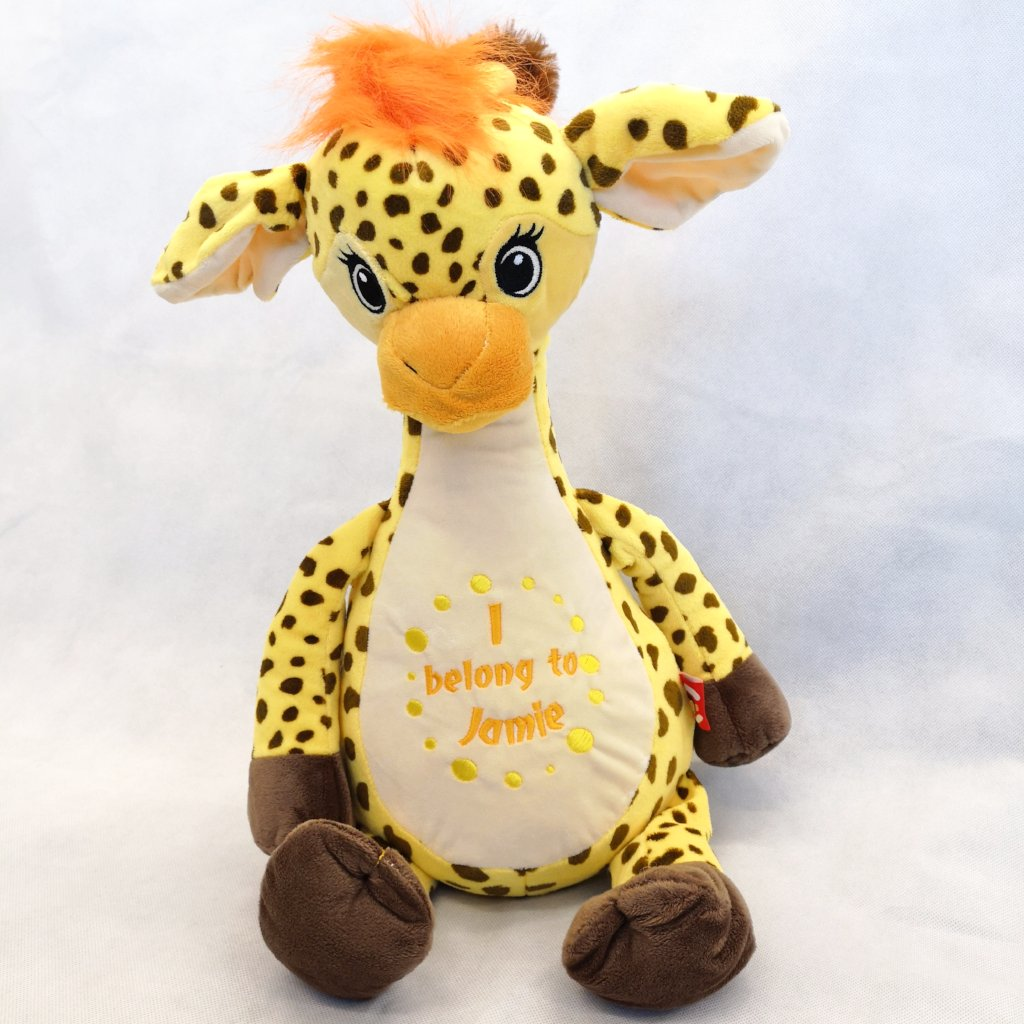 Georgia the Personalised Giraffe