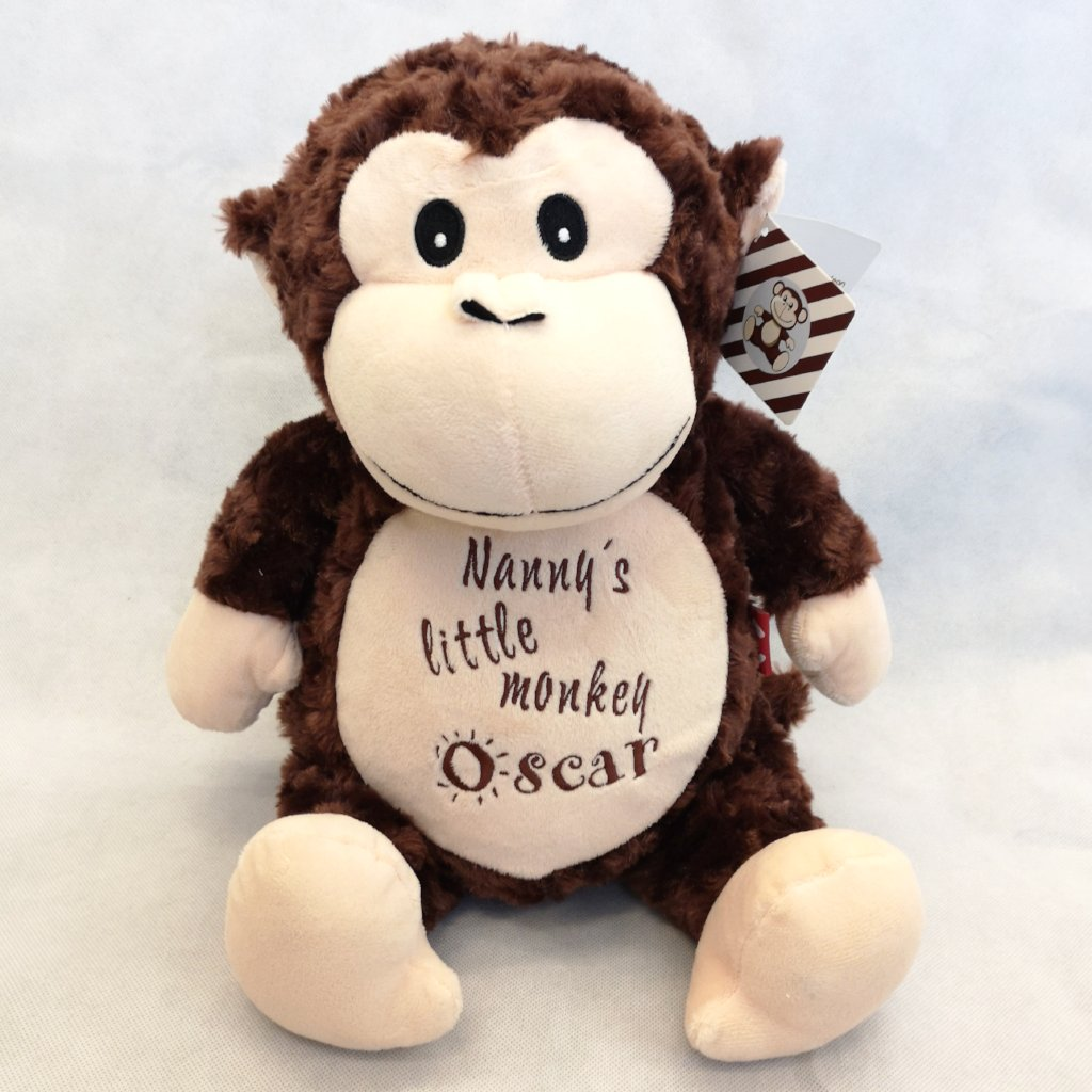 Louie the Personalised Monkey