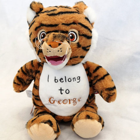 Rory the Personalised Tiger