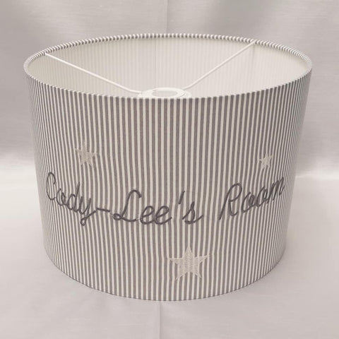 Personalised Drum Lampshade