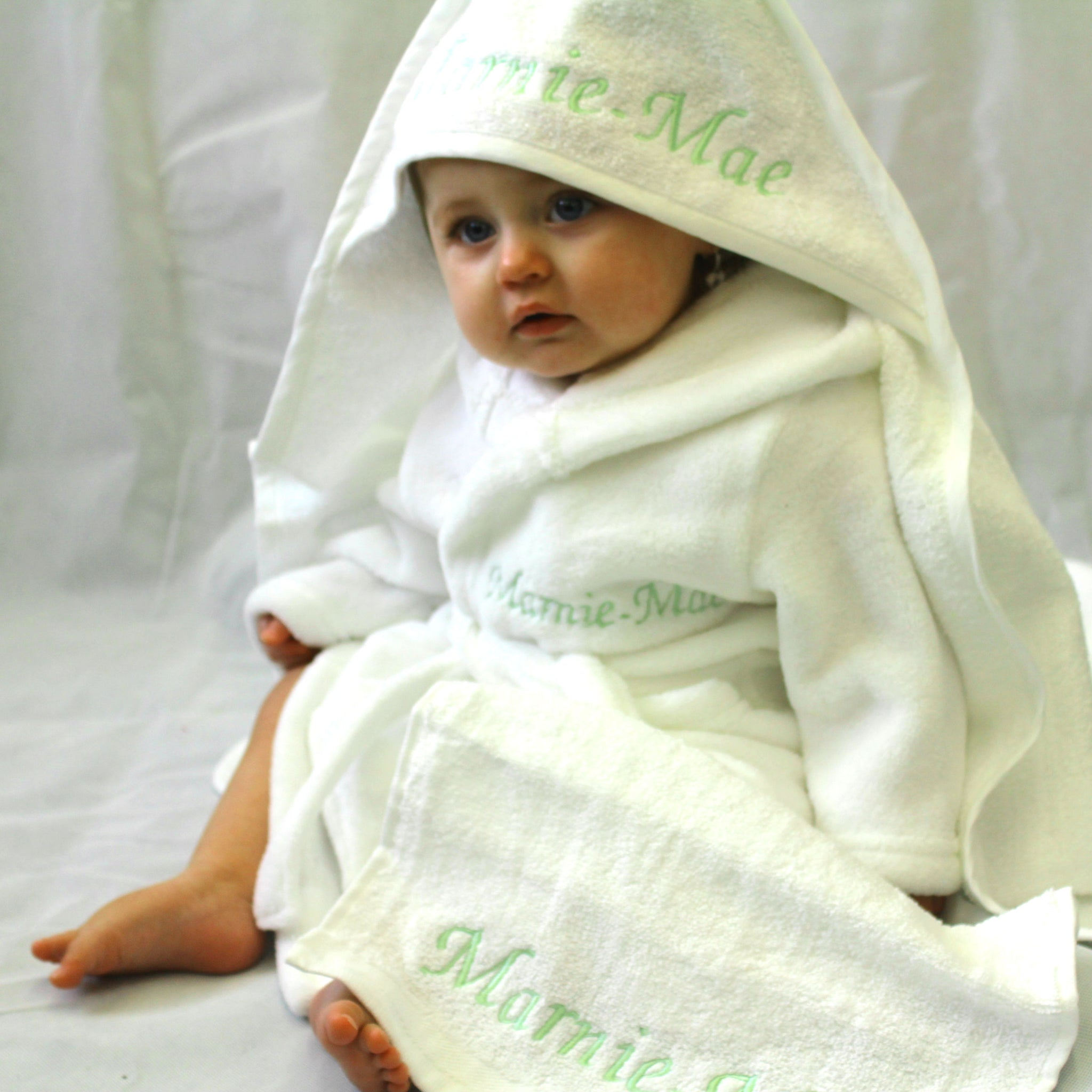 Hooded Towel Set