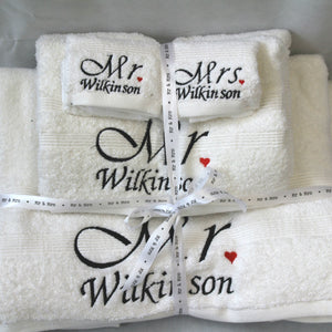 Wedding Towel Set