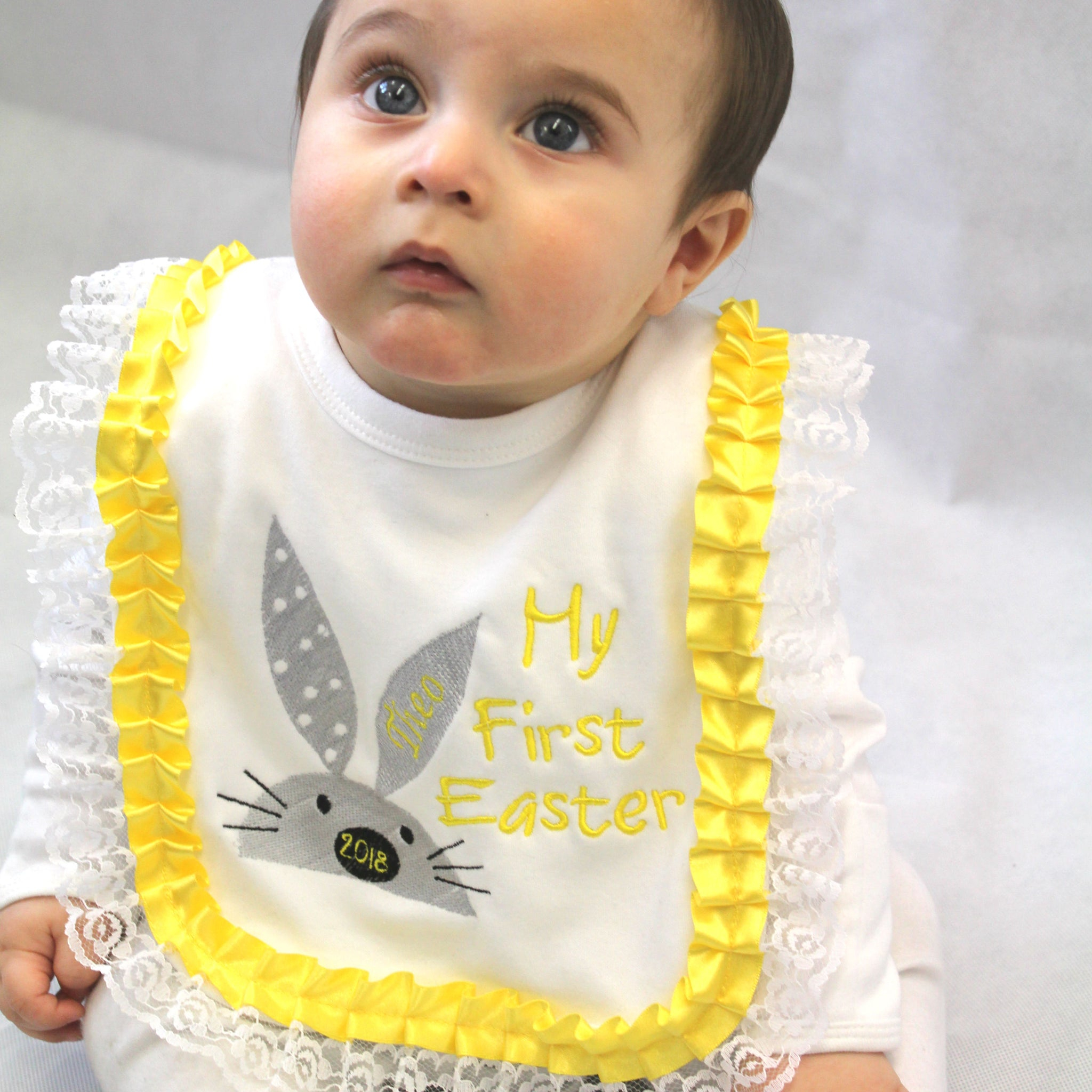 My First Easter Baby Bib