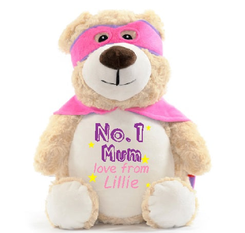 No.1 Mum Miss McStuffins Bear