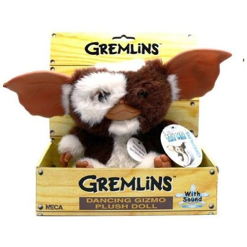 NECA Gremlins Electronic Dancing Plush Doll Gizmo, Measures 8