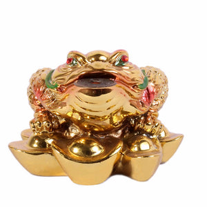 Hot Feng Shui Money LUCKY Fortune Wealth Chinese For Frog Toad Coin Home Office Decoration Tabletop Ornaments Good Lucky Gifts - Lucky Mouse Chinese Gifts