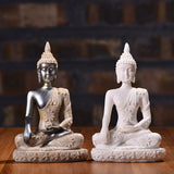 Indian Ganesha Buddha Statue Sculpture Sandstone Figurine Crafts Handmade home decorative - Lucky Mouse Chinese Gifts