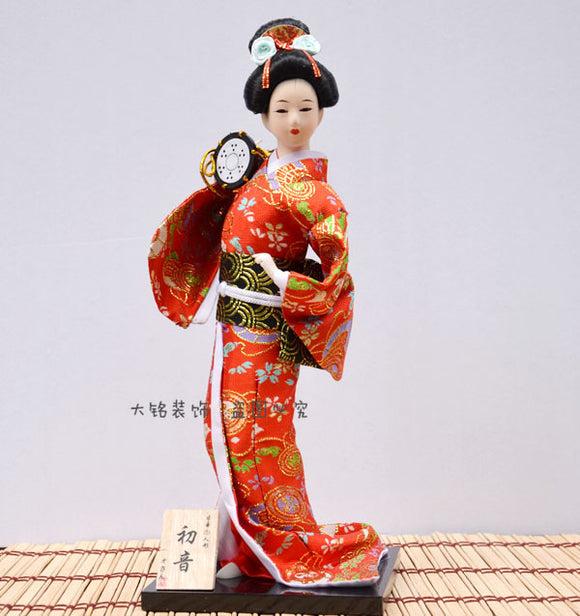 Japan dolls Geisha Japanese dolls women doll ladies dress cutting dies wedding decoration Meg - Lucky Mouse Chinese Gifts
