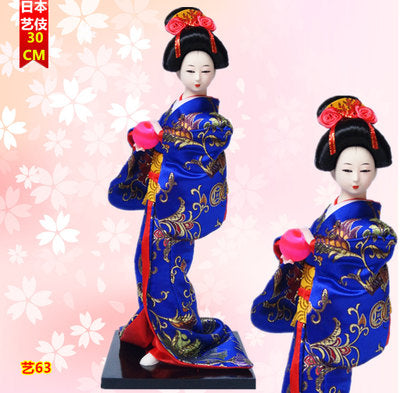 Master Japan geisha doll kabuki Japanese kimono furnishing articles tatami decoration creative gifts beauty women arts crafts - Lucky Mouse Chinese Gifts