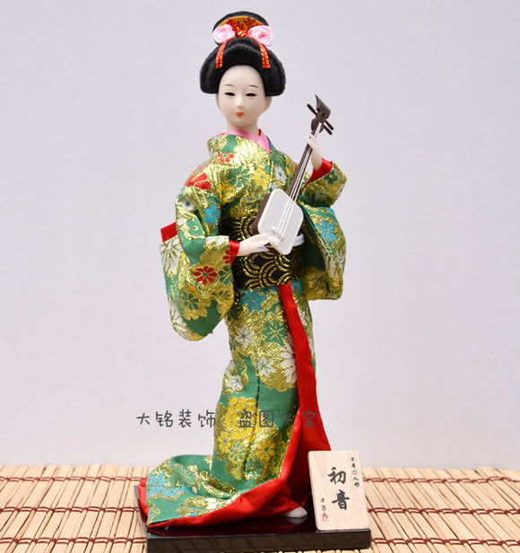 Home Furnishing jewelry ornaments Japan Japanese Geisha kimono doll doll figure restaurant decoration gifts - Lucky Mouse Chinese Gifts
