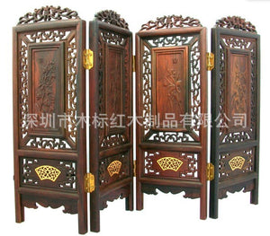 Shenzhen process screens antique wood table plaque Taiwan screen - Lucky Mouse Chinese Gifts