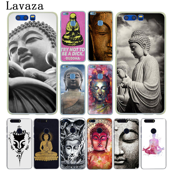 Lavaza Buddha budha Hard Phone Case for Huawei Y7 Y6 Y5 Y3 II 2017 G7 & Honor 9 8 Lite 7 7X 6 6A 4C 4X Cover - Lucky Mouse Chinese Gifts