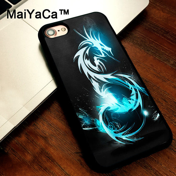 MaiYaCa Chinese Dragon phone cases soft TPU case cover for Apple iPhone 5 5s Cover For iPhone SE coque fundas - Lucky Mouse Chinese Gifts