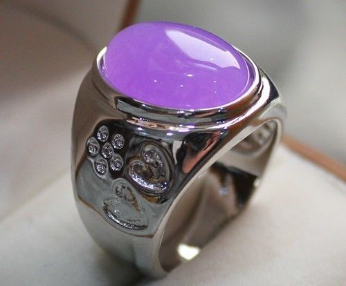 Hot sale new Style >>>>noblest men/women's stone pal ring Size 6 7 8 9 AAA - Lucky Mouse Chinese Gifts