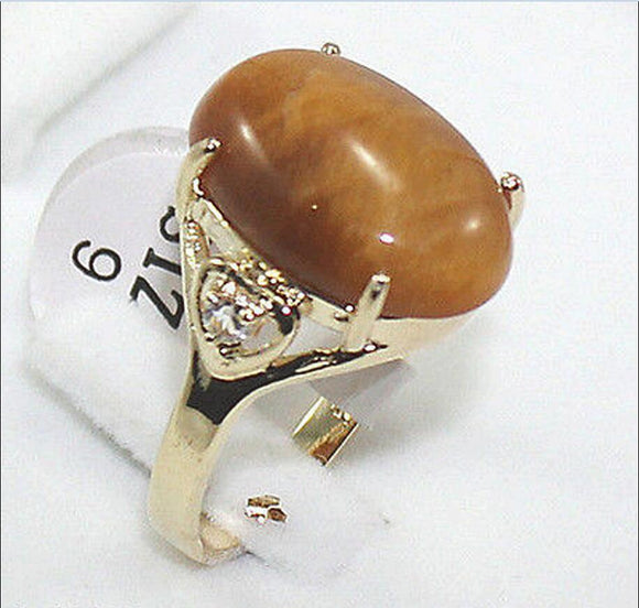 Hot sale new Style >>>>Tiger's Eye/Tiger eye ring AAA+,Crystal Healing Chatoyant,size: 7.8.9 - Lucky Mouse Chinese Gifts