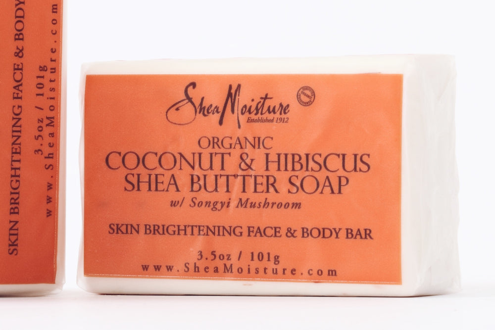 Coconut & Hibiscus Shea Butter Facial Bar Soap