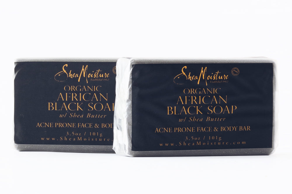 African Black Soap Facial Bar Soap