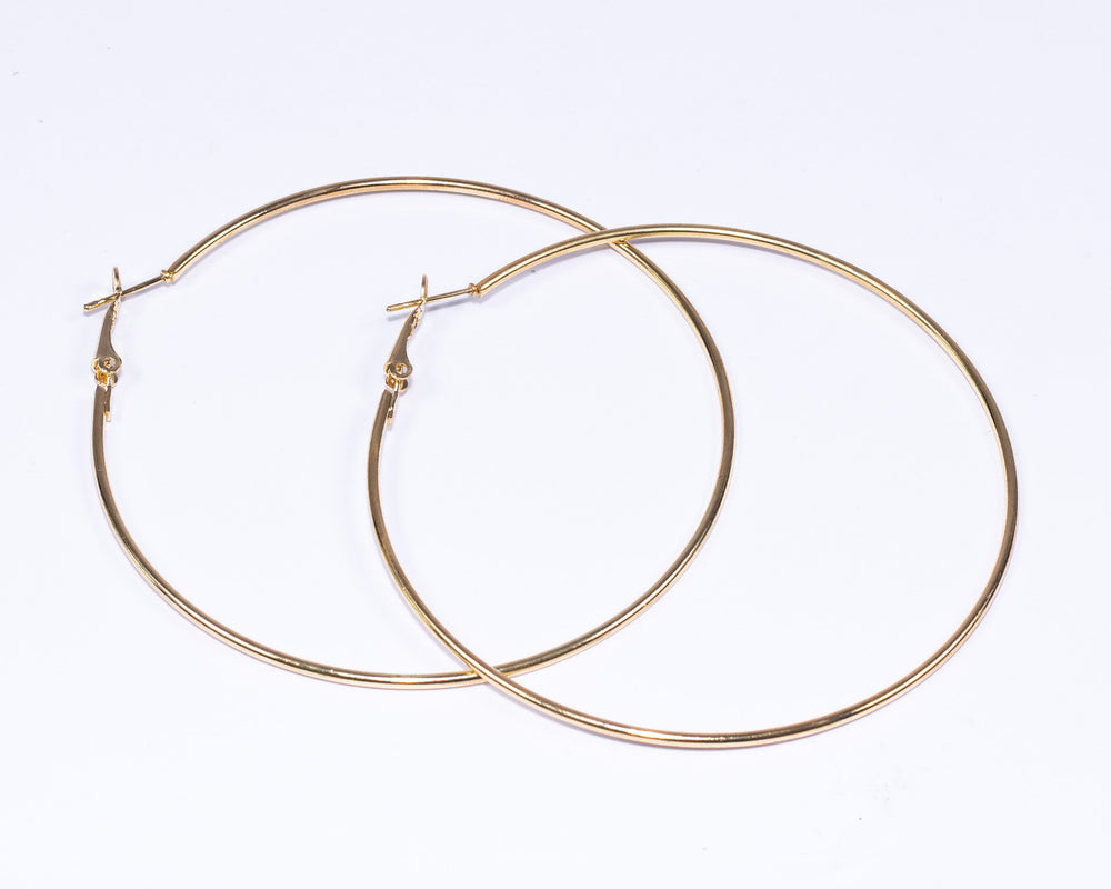 The Lara Hoop Earrings