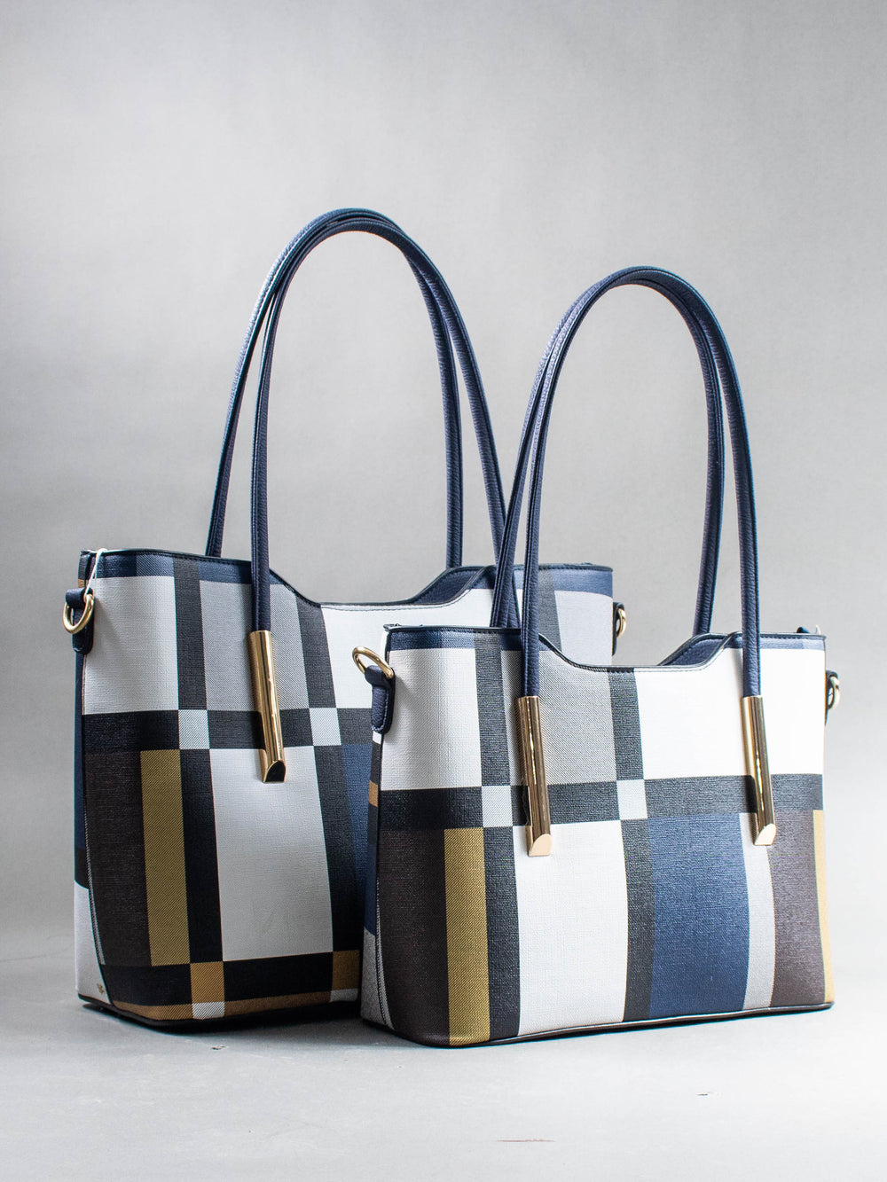 The Tessa Bag (Navy Blue)