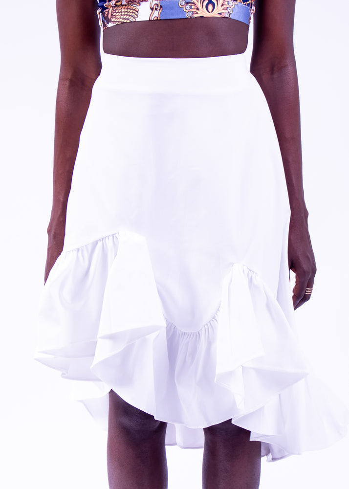 Pareo Ruffled Skirt