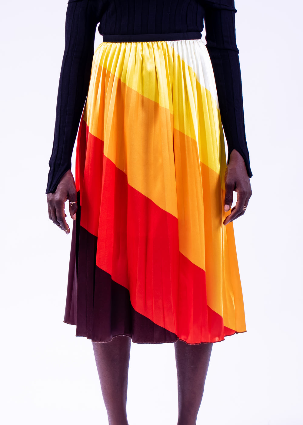 4shades Yoke Skirt