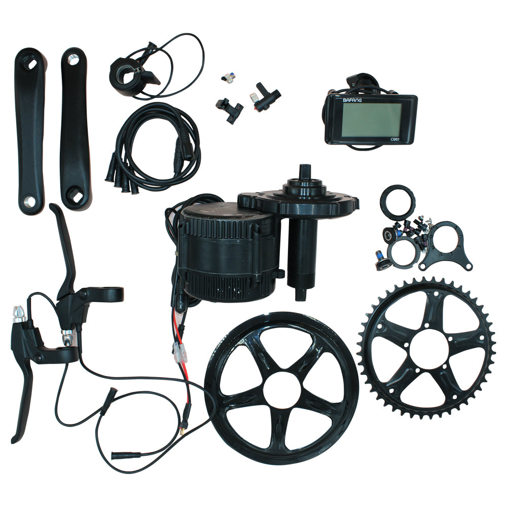 New Bafang BBS01B BBS01 36V 250W ΜΟΤΕΡ ΜΕΣΑΙΑΣ ΤΡΙΒΗΣ ME C965 LCD bafang mid drive Electric Bike conversion kits