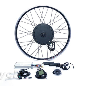 "Front or rear motor 55km/h motor wheel 48v 1000w ebike conversion kit for 20"" 24"" 26"" 28"" 700c bicycle"
