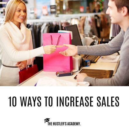 10 Ways to Increase Sales